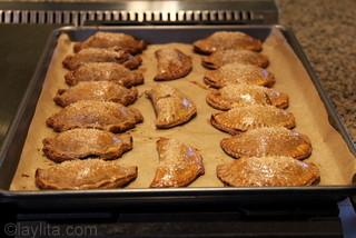 Assemblage des empanadas - étape 4