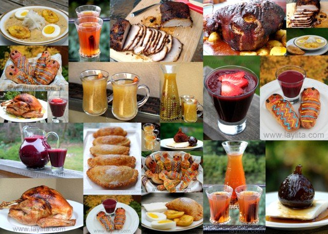 ecuadorian holiday dishes - Traditional Christmas Food