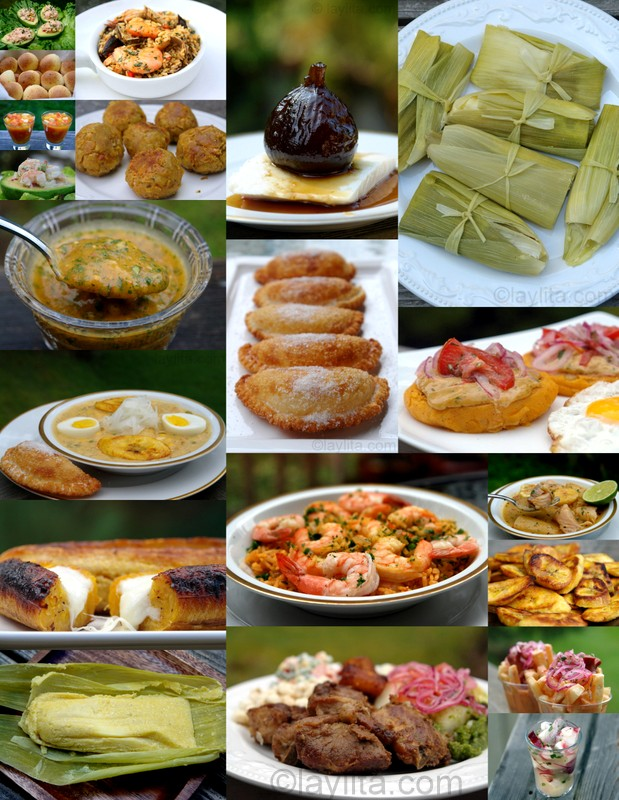 Ecuadorian or Ecuadorean recipes