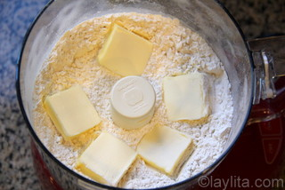 Basic recipe for sweet tart dough