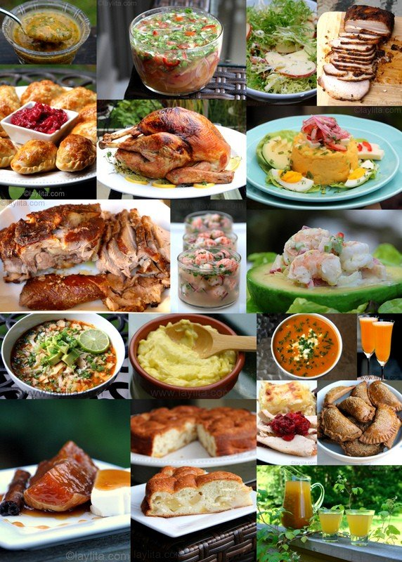 Latin menu ideas for Thanksgiving
