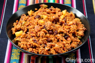 10- Latin American turkey stuffing