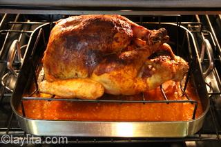 6- Achiote chicha roasted turkey