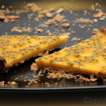 Maracuya tart or passion fruit tart recipe