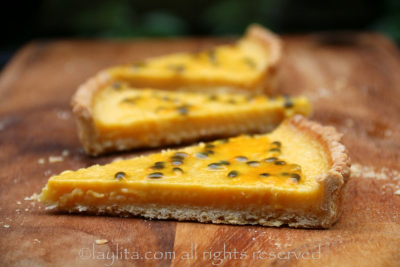passion fruit tree fruit tart recipe