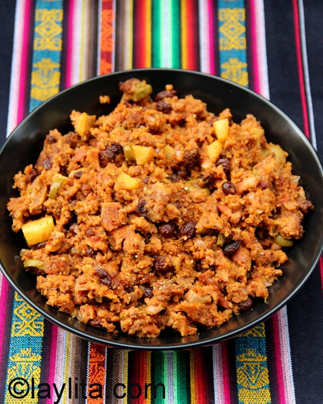 Relleno De Pavo Or Turkey Stuffing Recipe