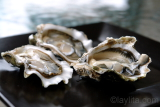 1 -Raw oysters