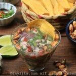 How to make raw oyster ceviche