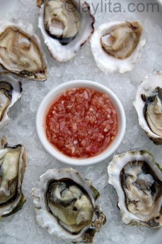 Mignonette Sauce For Oysters Recipes — Dishmaps