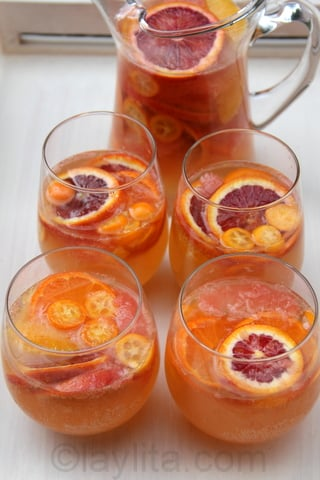 Citrus white sangria recipe