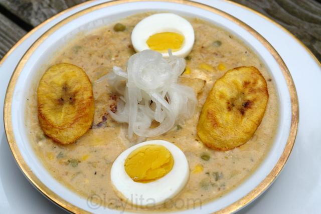 Ecuadorian Easter fanesca soup recipe
