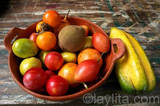 Ecuadorian fruits