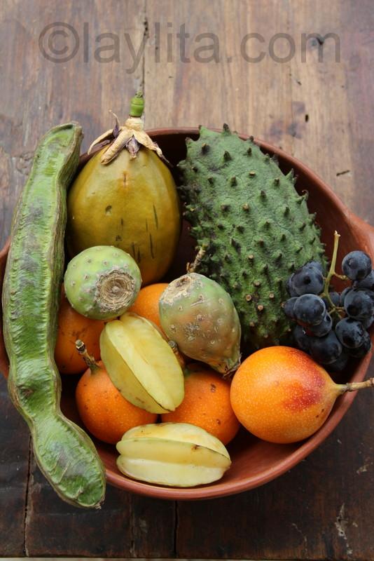 Fruits from Ecuador