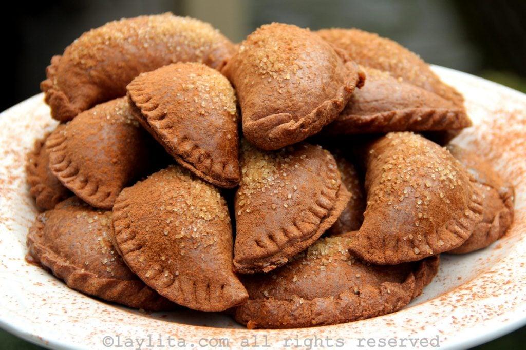 Recipe for chocolate empanadas
