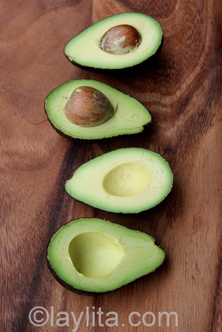 Avocados for stuffing