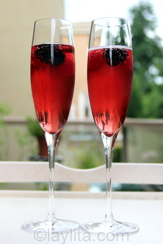 Easy recipe for kir royal