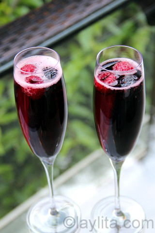 French kir royal