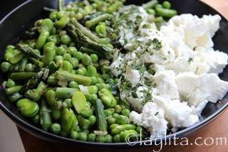 how to cook goya frozen fava beans