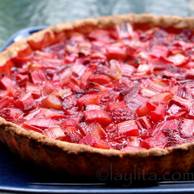 Strawberry rhubarb tart recipe