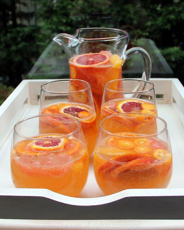 Citrus moscato sangria recipe