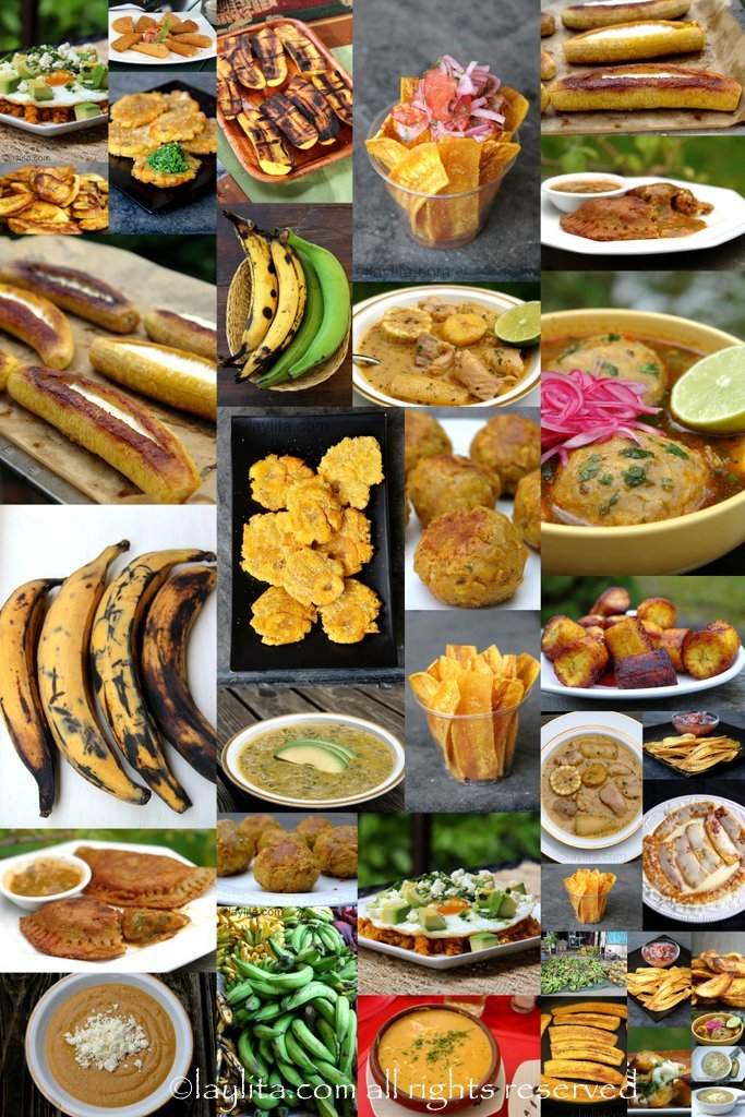 Ecuadorian plantain dishes