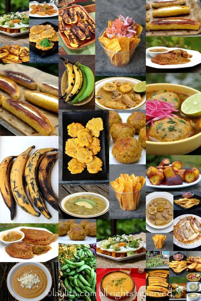 Ecuadorian plantain dishes
