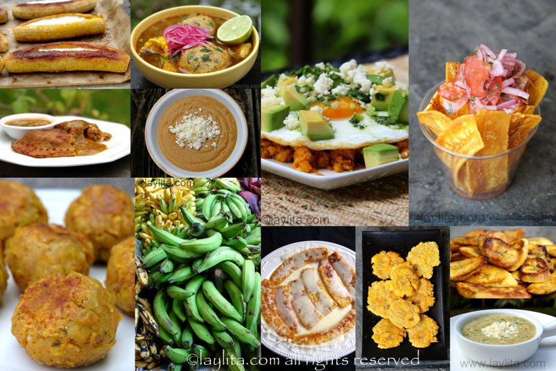Ecuadorian plantain recipes