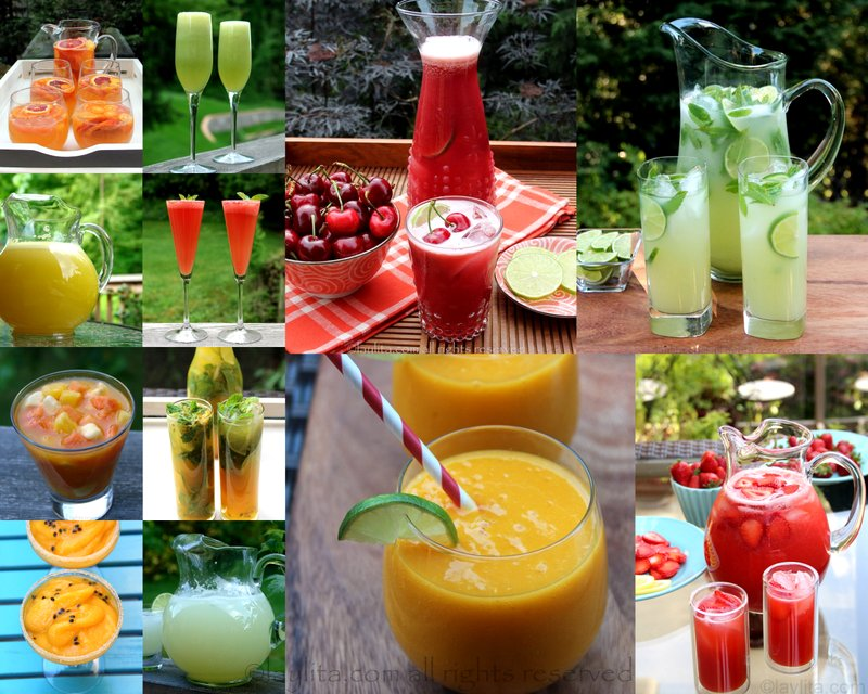 Easy summer drinks and cocktails laylita s recipes for Drink recipes without alcohol