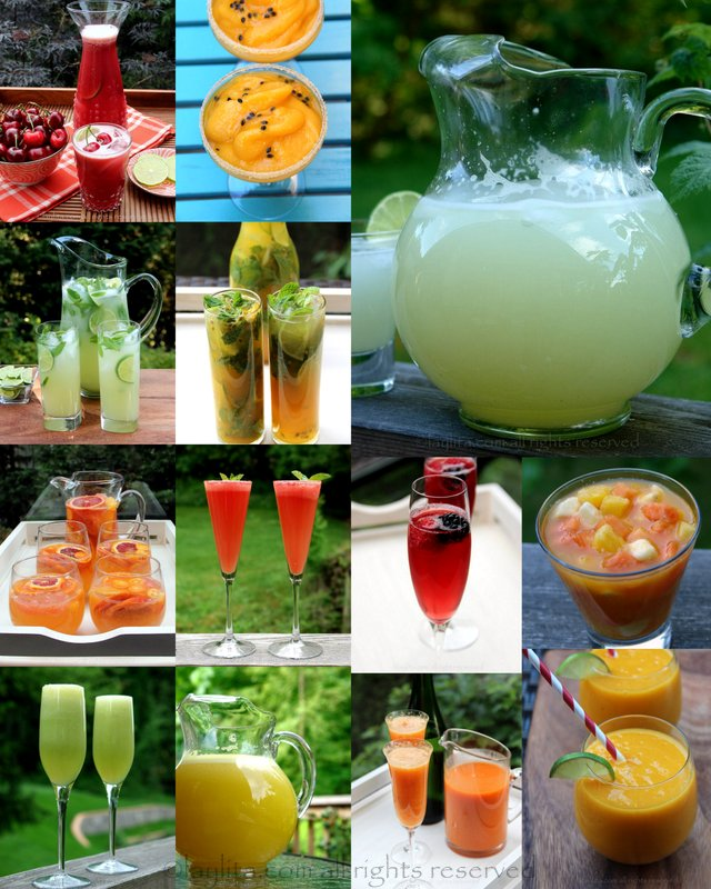 Summer drink ideas and recipes