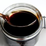 Balsamic vinegar reduction