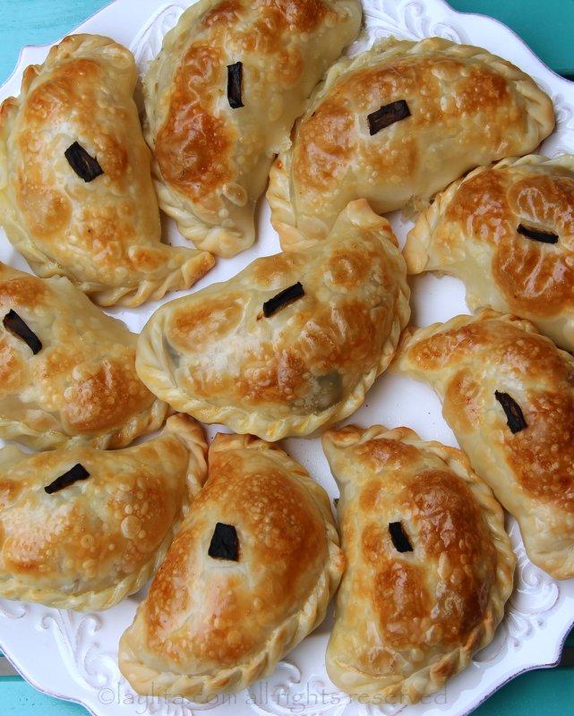Recipe for poblano empanadas