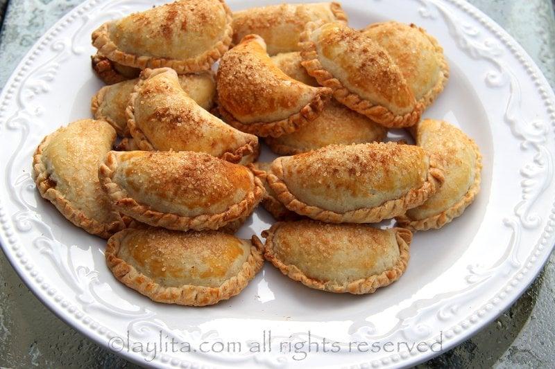 Receta para las empanadas dulces de calabaza