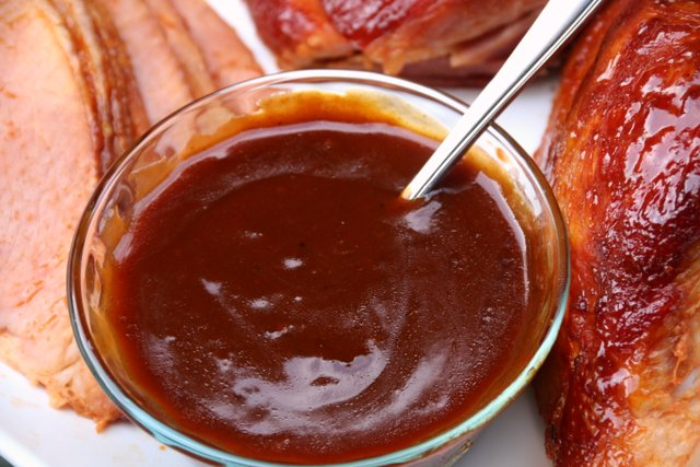Orange chipotle gravy sauce