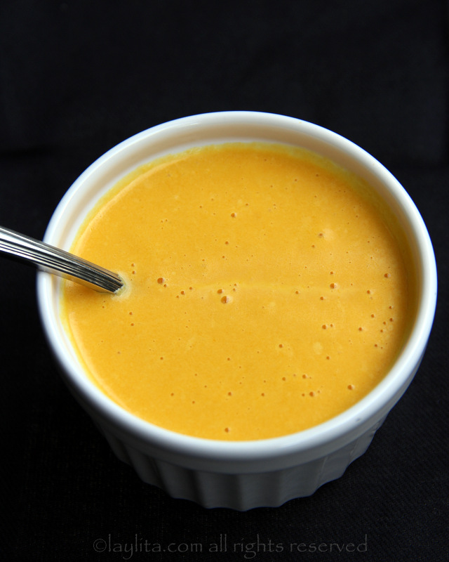 Maracuya or passion fruit spicy sauce
