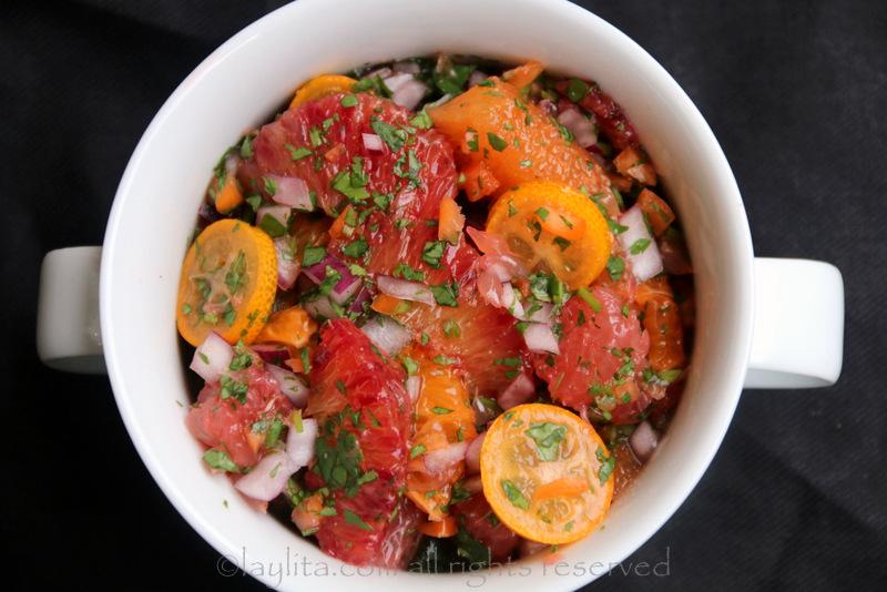 Recette de la sauce salsa