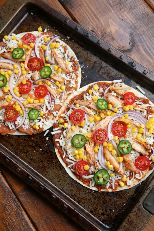 How to make tortilla pizzas