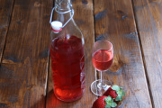 Strawberry infused tequila