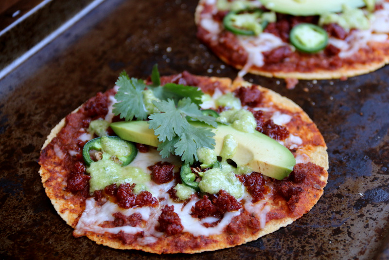 Tortillas pizzas