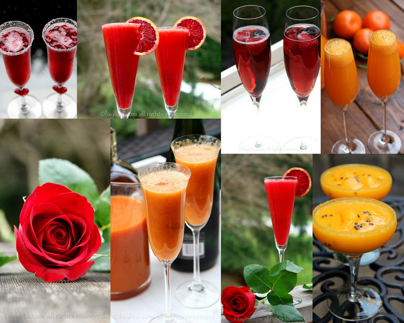 Valentine's Day Cocktails and Drinks