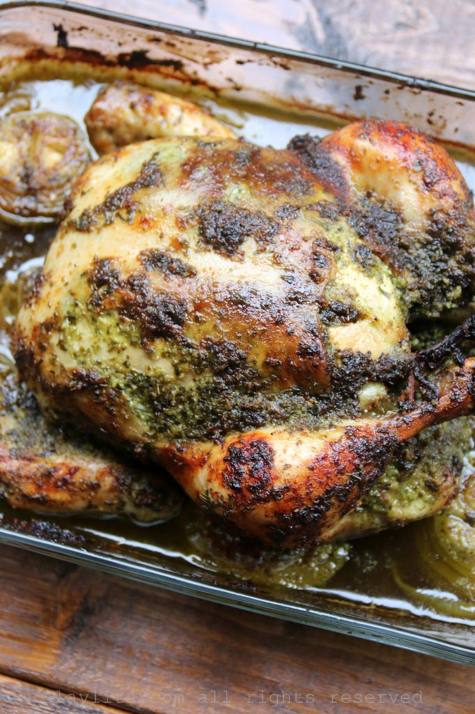 Chimichurri Roasted Chicken | Outrageously Delicious Whole Chicken Recipes | whole chicken recipe ideas