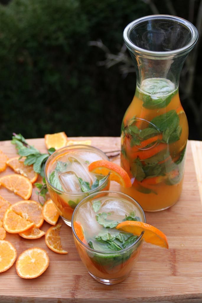 Easy recipe for tangerine mojitos