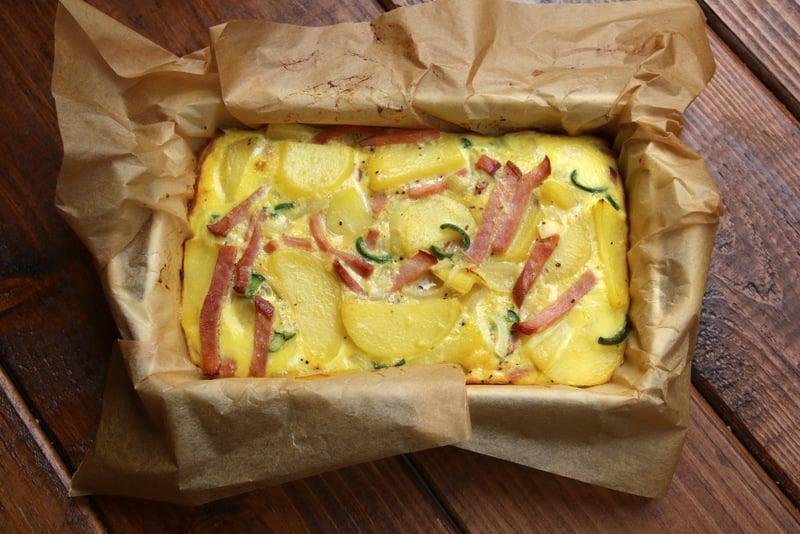 Préparation de la tortilla espagnole