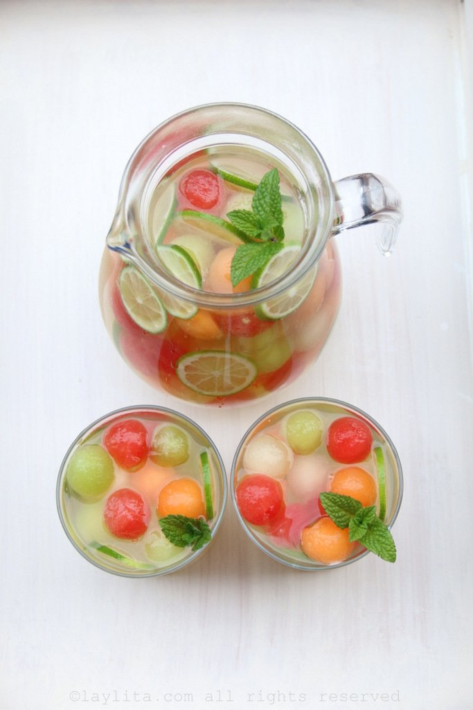 Moscato melon sangria recipe