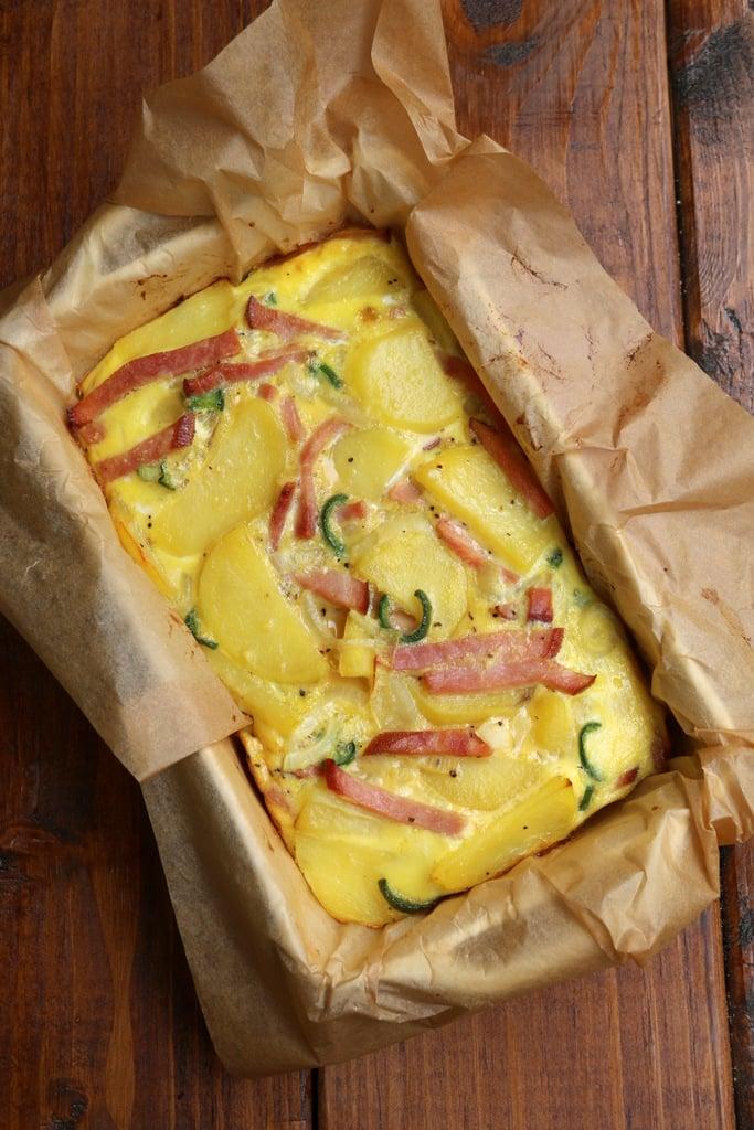 Spanish Style Baked Tortilla