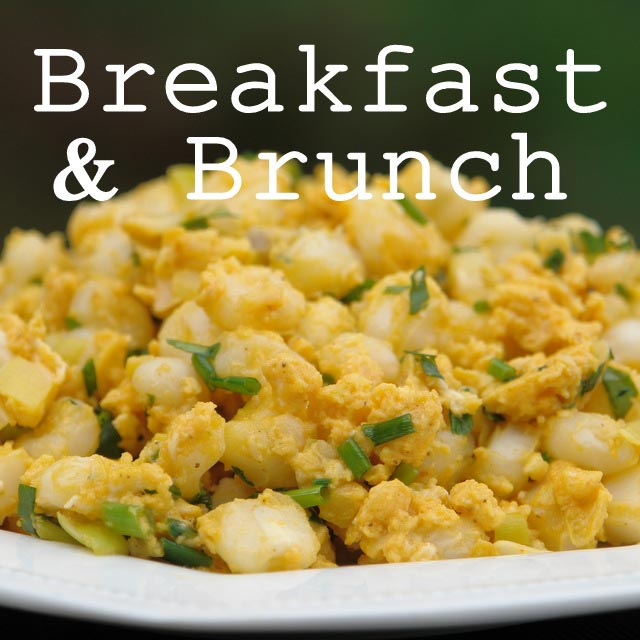 Breakfast and brunch recipes