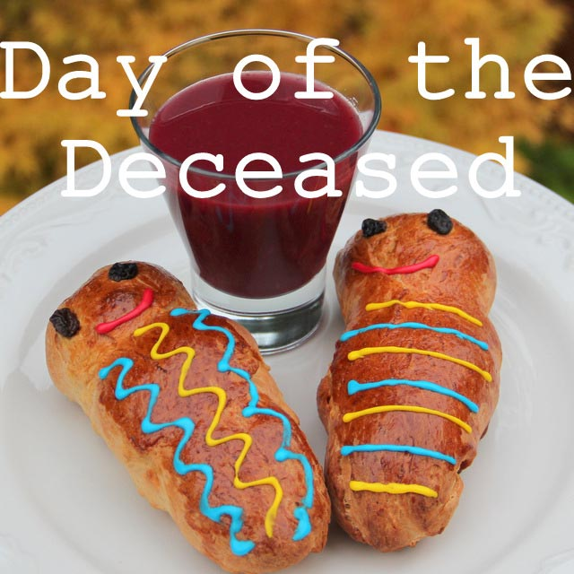 Day of the Deceased recipes