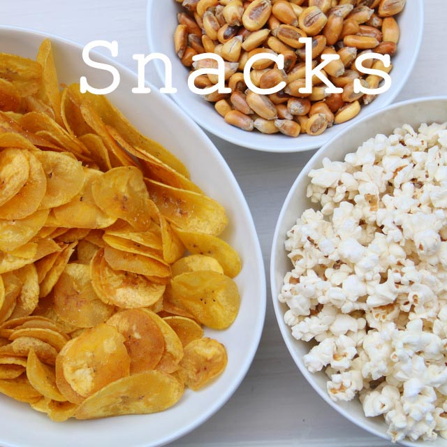 Snack recipes