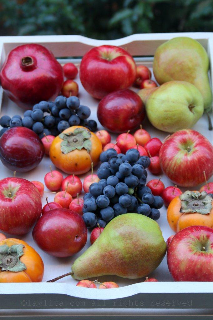 Fruit for hard apple cider sangria