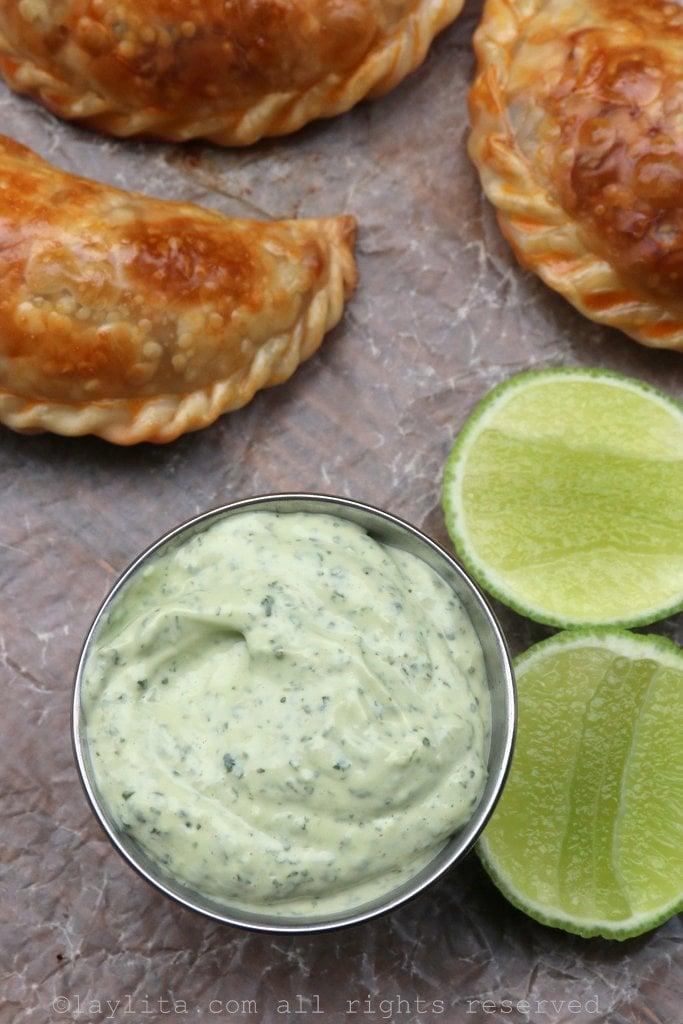 Spicy Empanadas With Cilantro Cream Recipes — Dishmaps