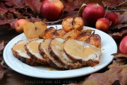 Cider roasted pork loin recipe